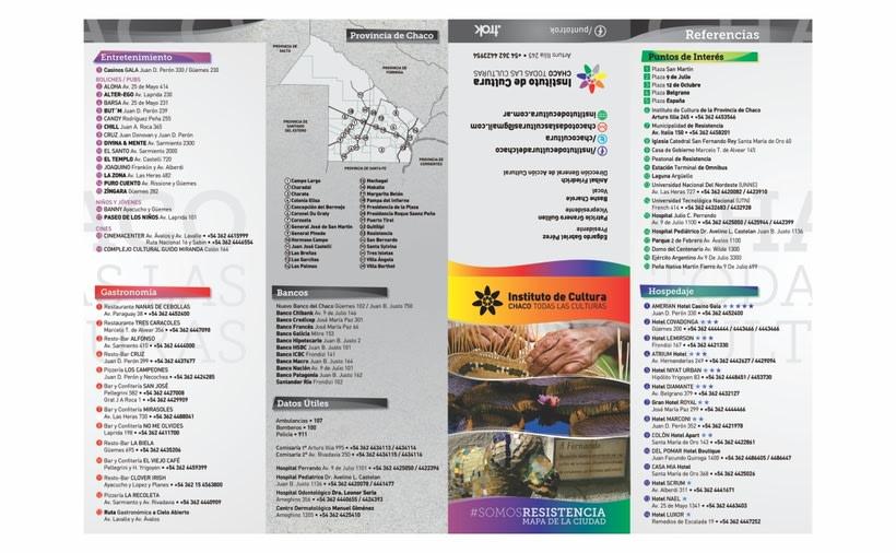"Agenda Cultural ""Sí, Vamos"" - Instituto de Cultura del Chaco 2"