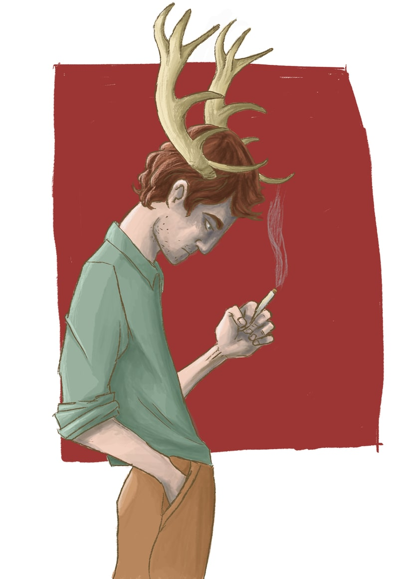 I love your horns -1