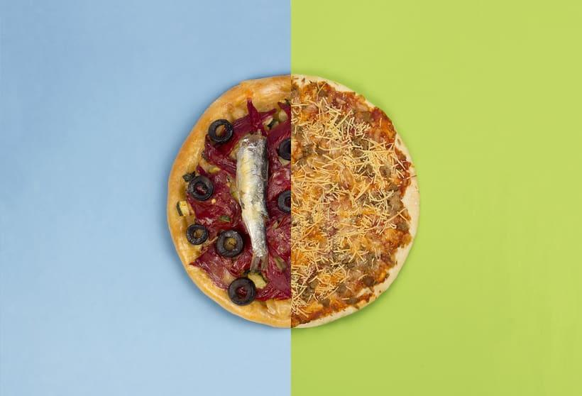FAST FOOD VS SLOW FOOD / Fotografía de producto 2