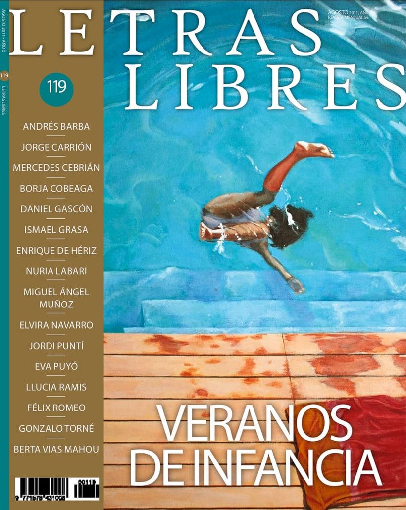Portadas de la revista Letras Libres 0