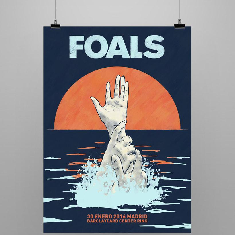 FOALS What Went Down. Mi Proyecto del curso Ilustración para music lovers 0