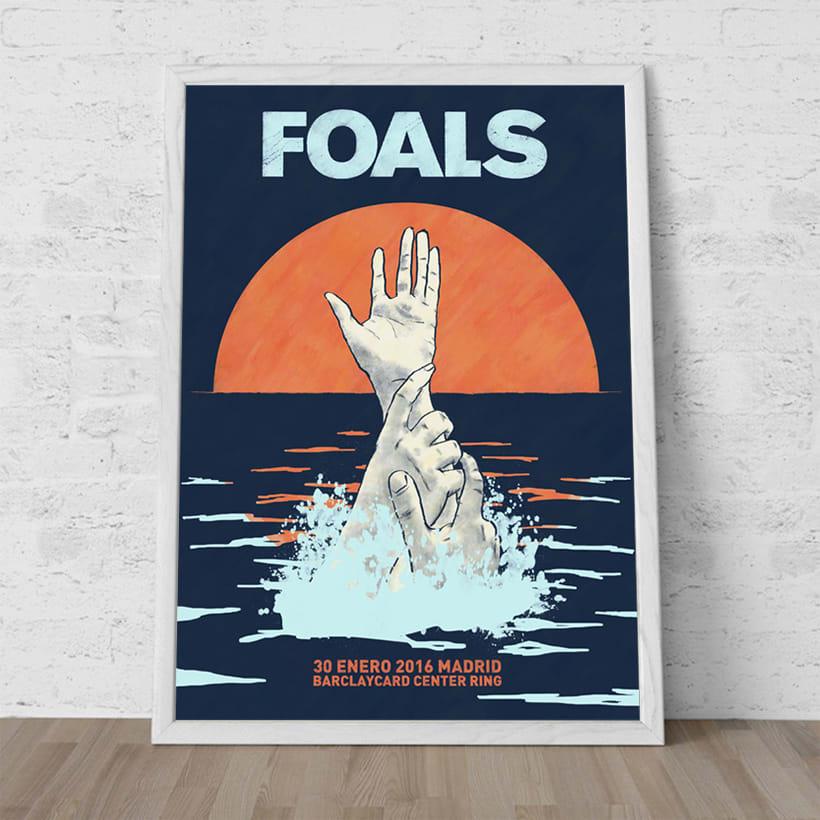 FOALS What Went Down. Mi Proyecto del curso Ilustración para music lovers 1