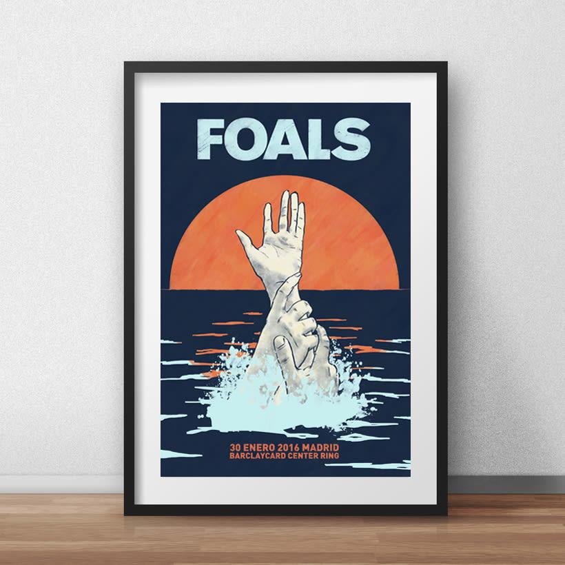 FOALS What Went Down. Mi Proyecto del curso Ilustración para music lovers 2