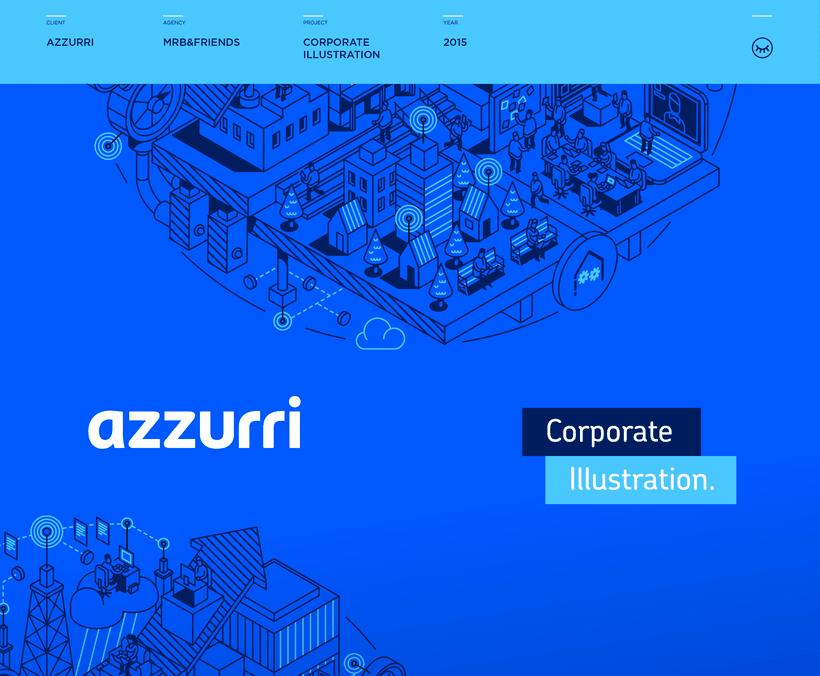 AZZURRI Ilustración Corporativa 0
