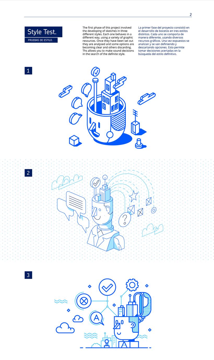 AZZURRI Ilustración Corporativa 2