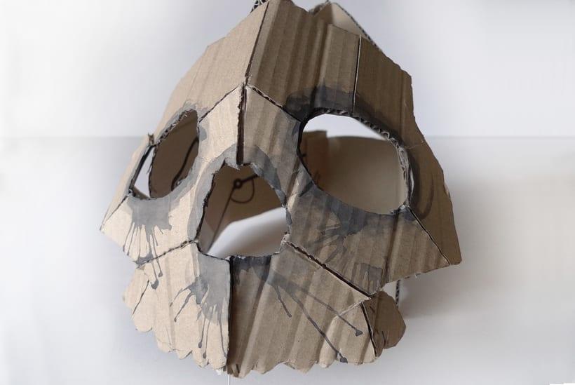 Mascaras de cartón -1