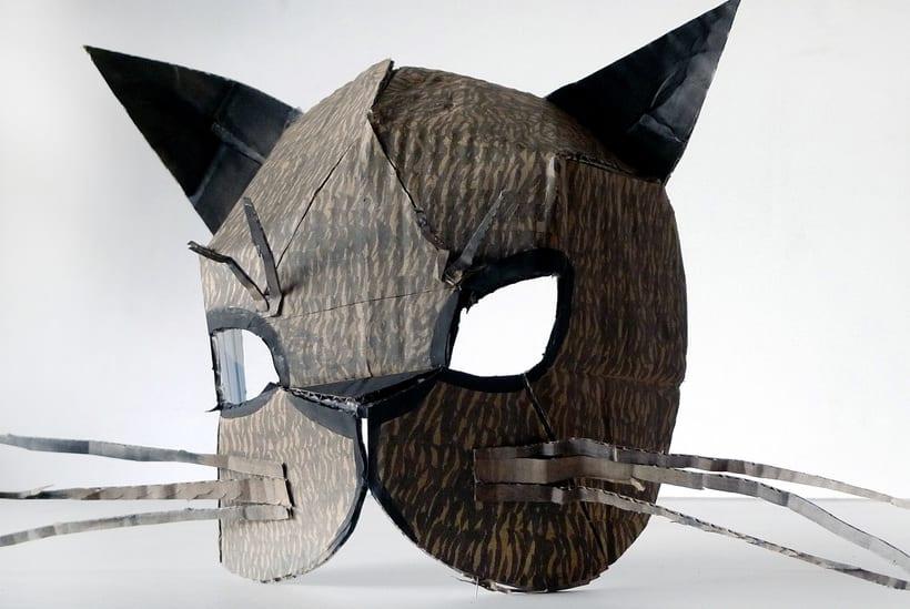 Mascaras de cartón 0