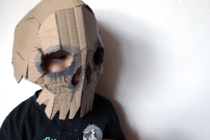 Mascaras de cartón 1