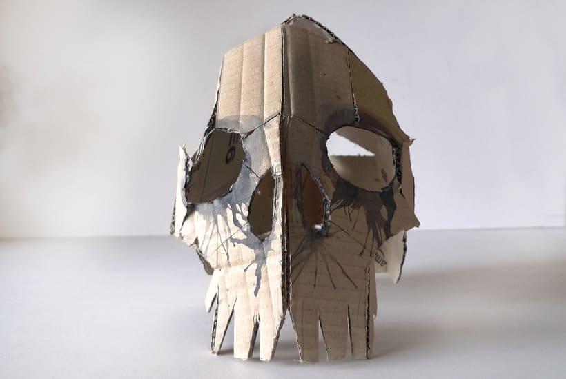 Mascaras de cartón 2