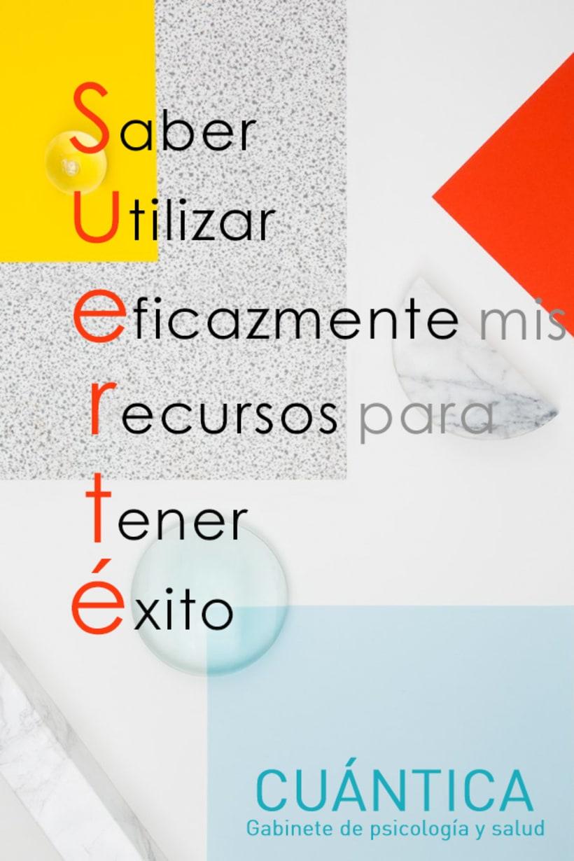 Cuántica. Gabinete de psicología y salud (cartelería e imagen corporativa) 4