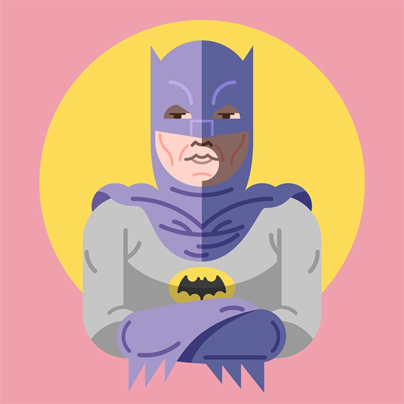Batman & Robin 60´s 2
