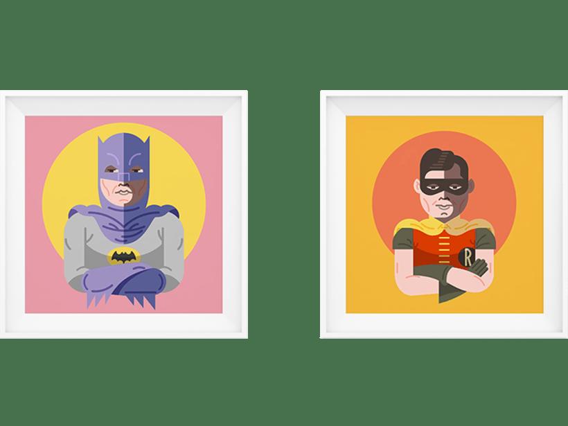 Batman & Robin 60´s 4