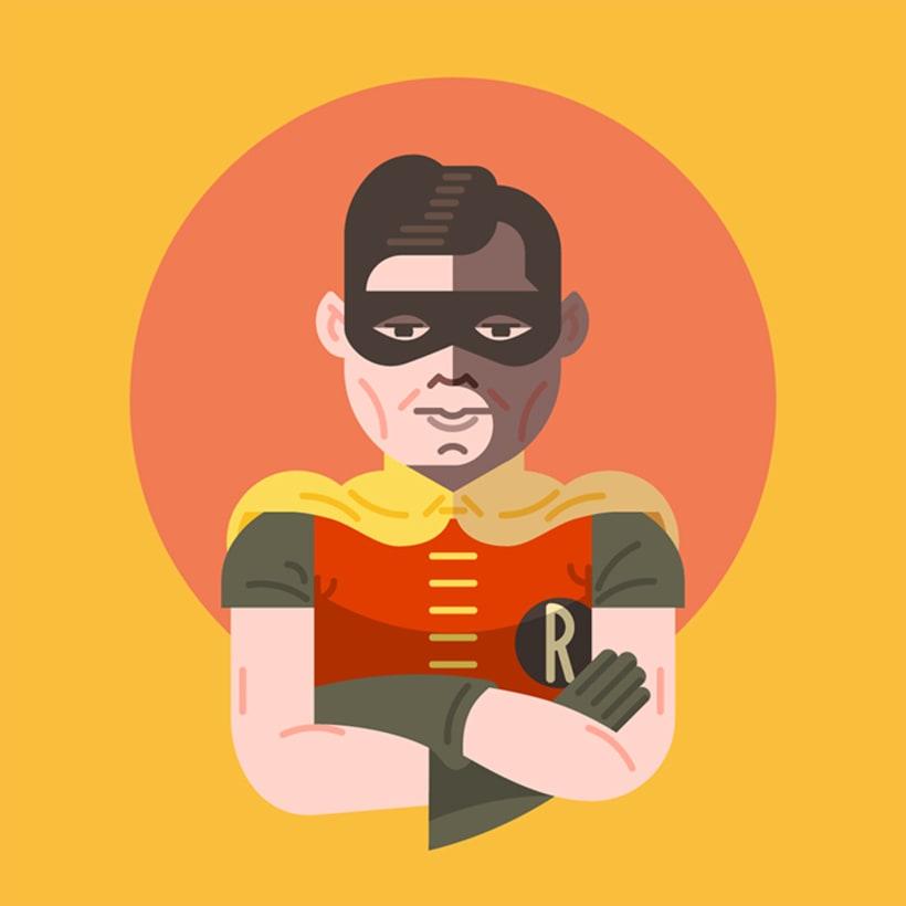 Batman & Robin 60´s 3