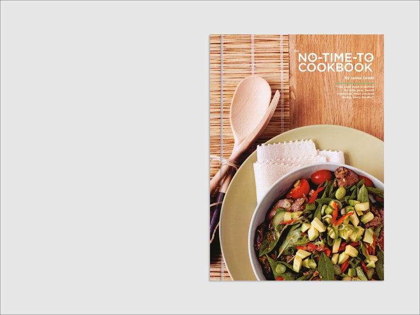 The No-Time-To Cookbook 1
