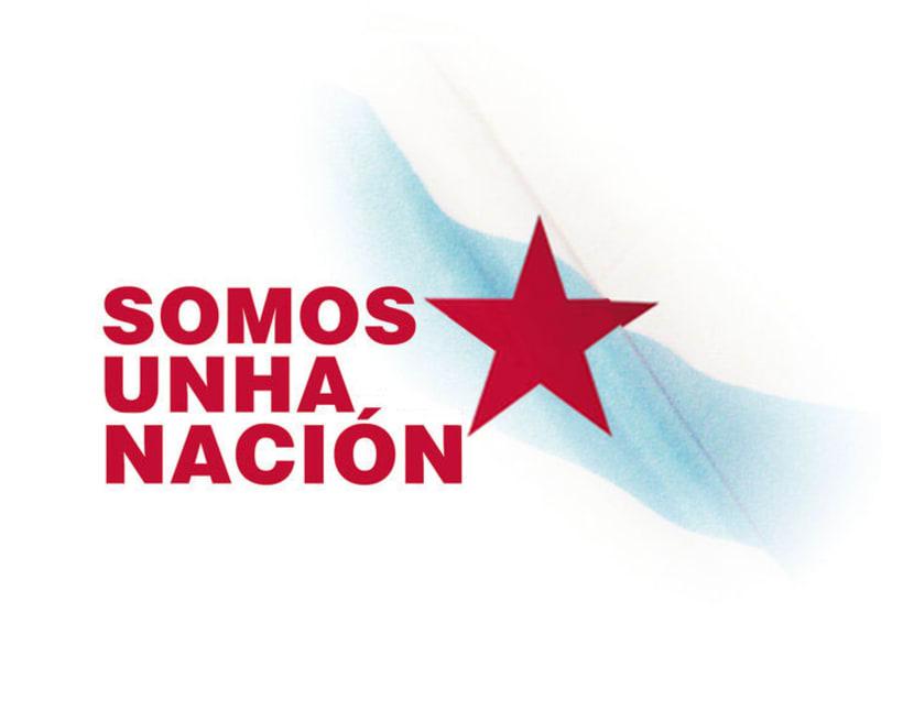 Galiza naçom: Somos unha nación. Galiza, unha nación no corazón 1