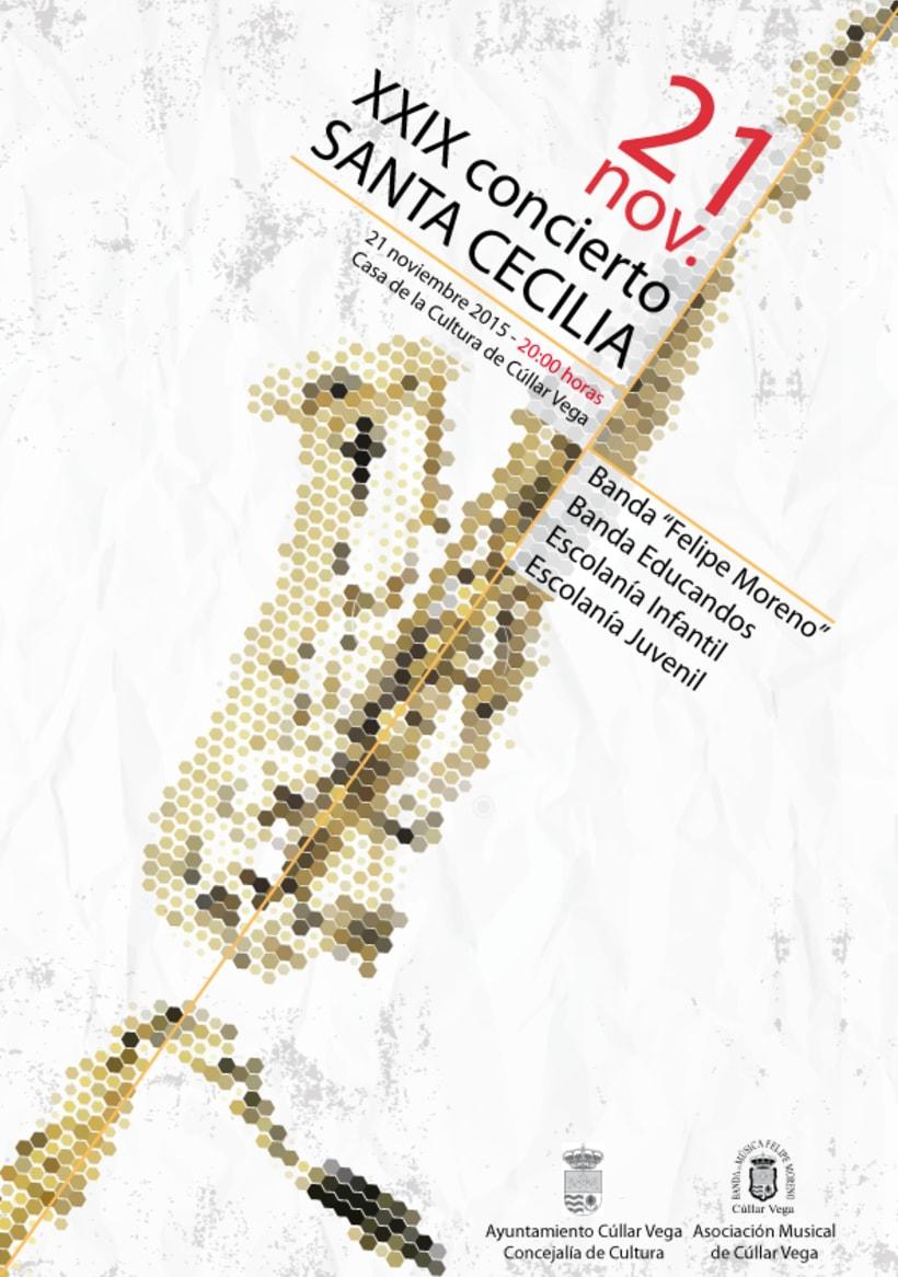 XXIX Concierto Santa Cecilia (Diseño Gráfico) 0