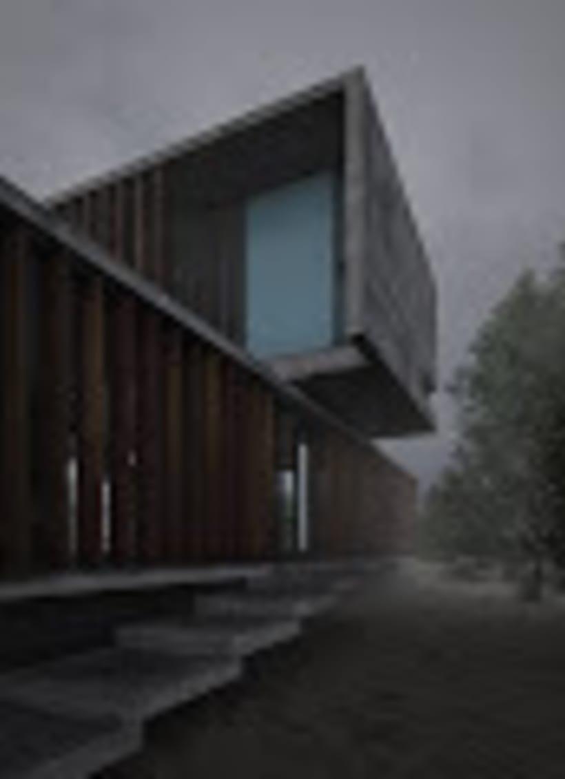 """Proyecto de infoarquitectura """" casa MR """" -1"""