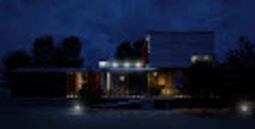 """Proyecto de infoarquitectura """" casa MR """" 2"""