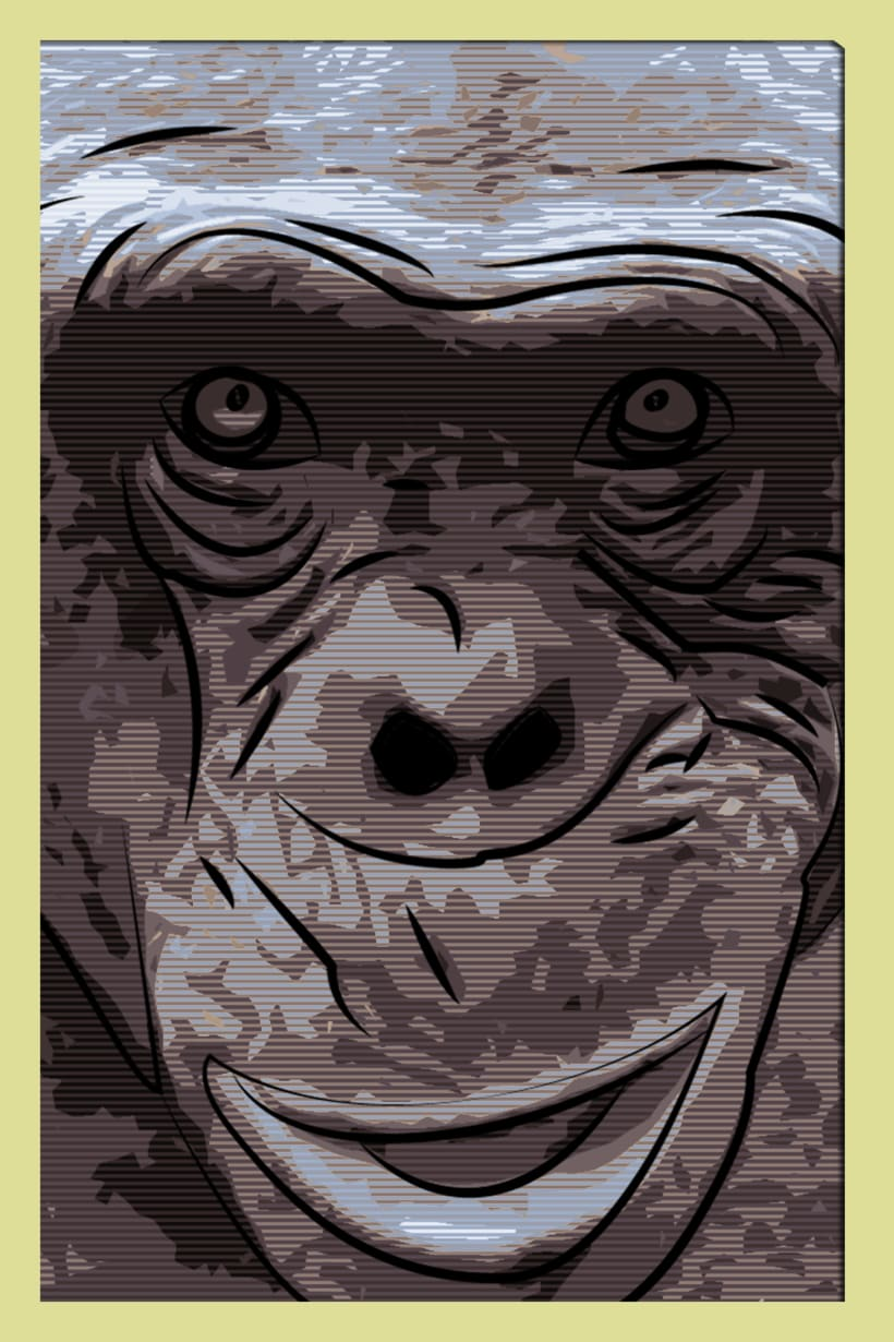 ASHES THE HAIRLESS CHIMP 1