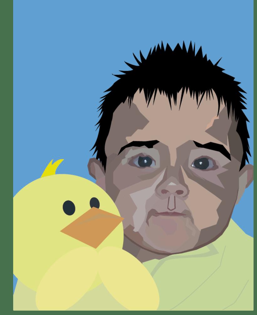 Proyectos de ilustracion en Adobe Ilustrator -1
