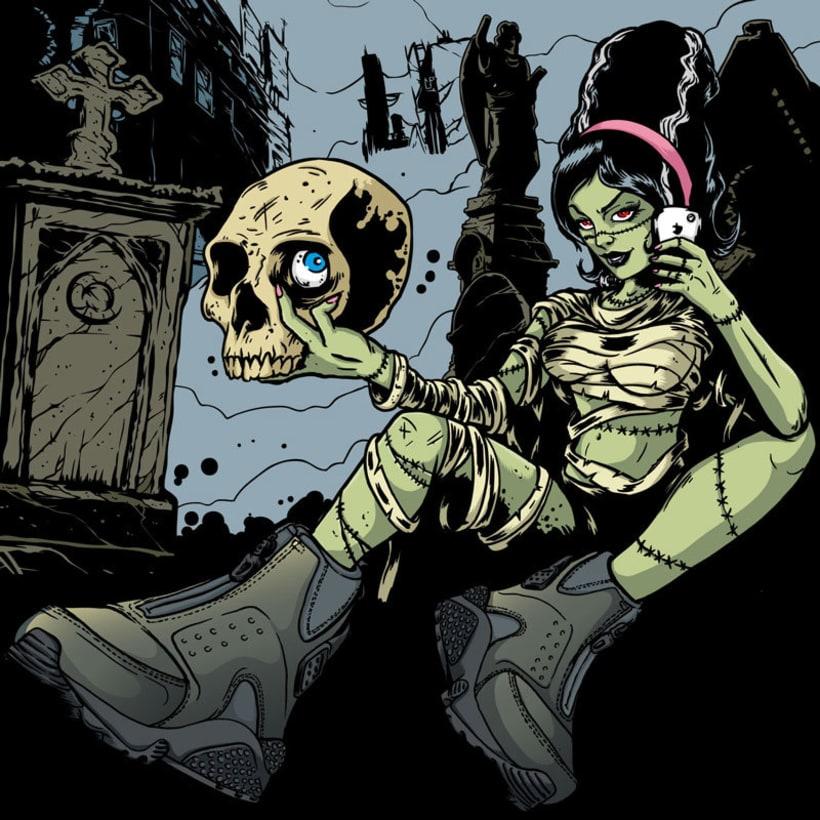 Ilustraciones de Halloween para Sivasdescalzo 0