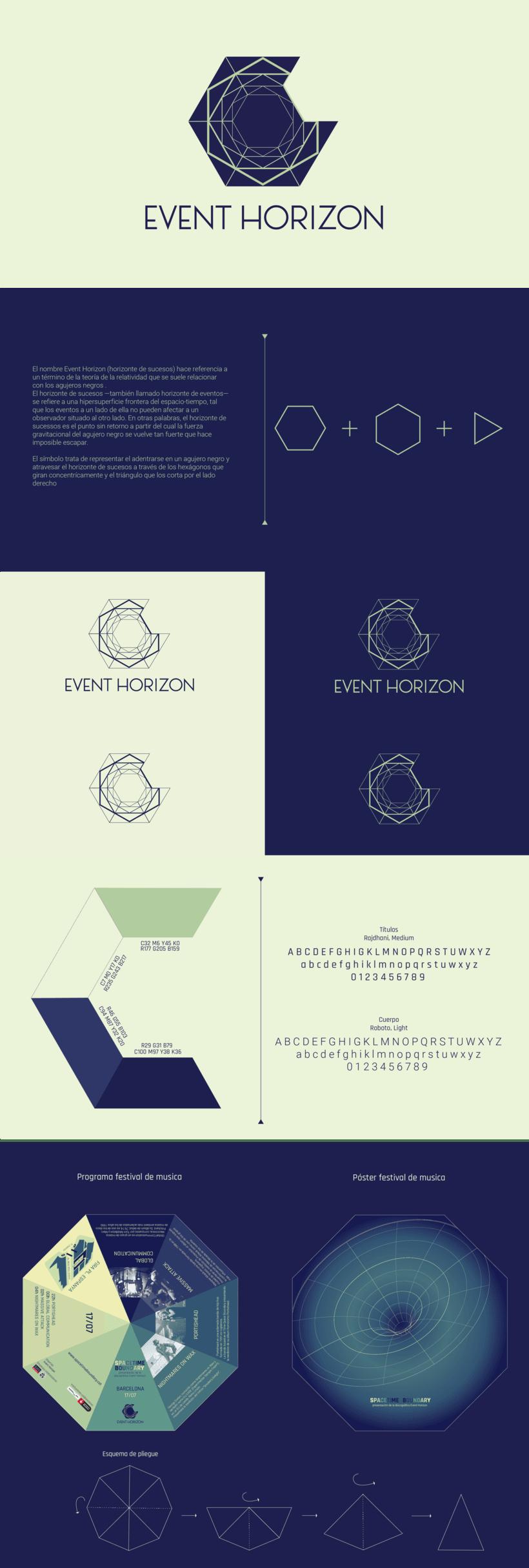 Identidad Corporativa: Event Horizon 0