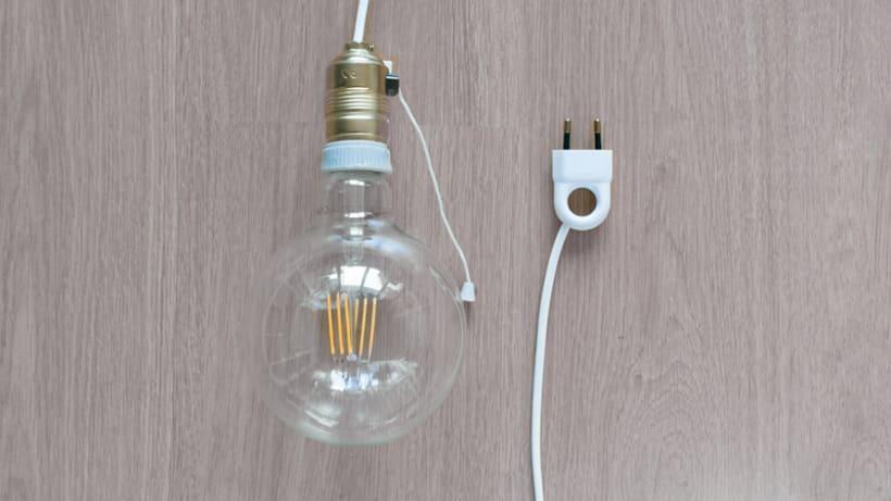 Lámpara XL Crochet 4