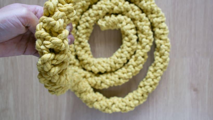 Lámpara XL Crochet 5