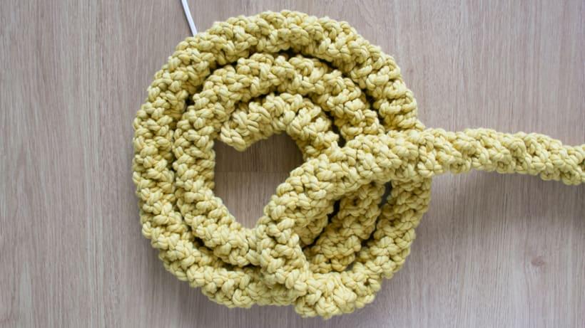 Lámpara XL Crochet 7