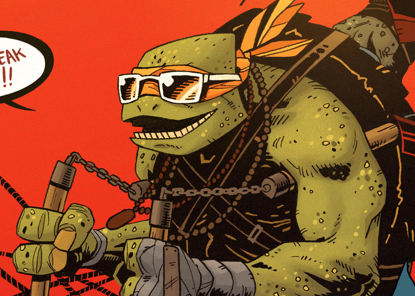 TMNT Comission for Paramount  11