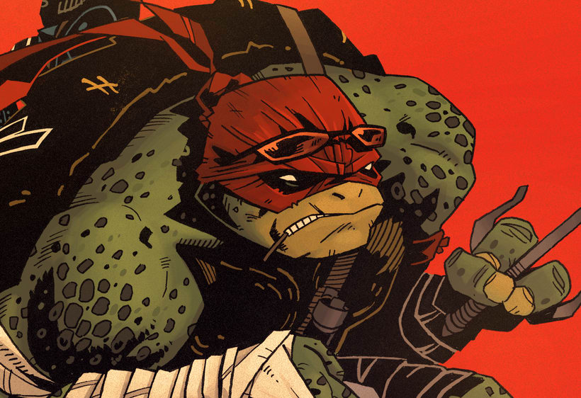 TMNT Comission for Paramount  13