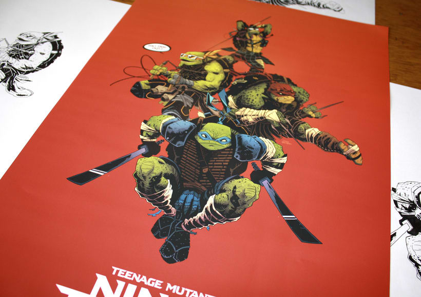 TMNT Comission for Paramount  1