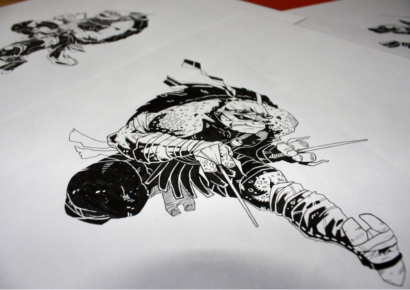 TMNT Comission for Paramount  4