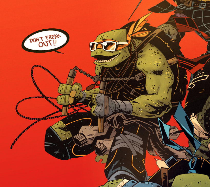 TMNT Comission for Paramount  10