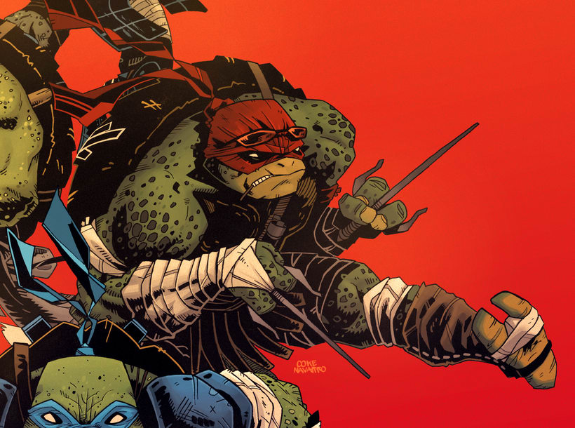 TMNT Comission for Paramount  12