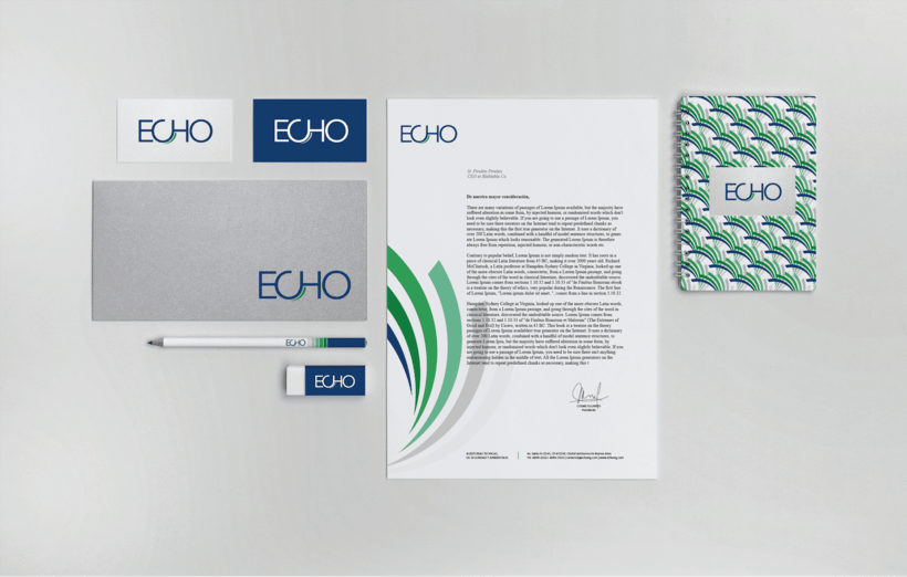 Branding | ECHO Auditorias ambientales 3