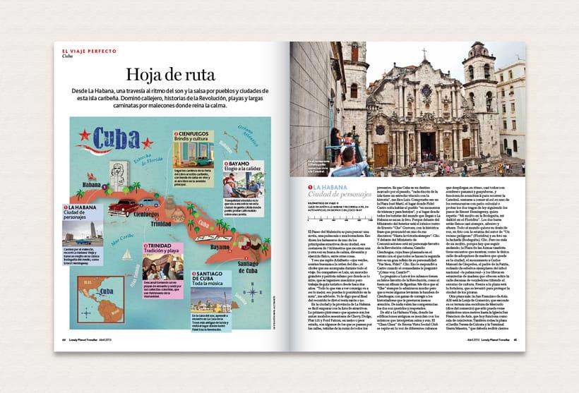 Ilustración | Lonely Planet Magazine 5