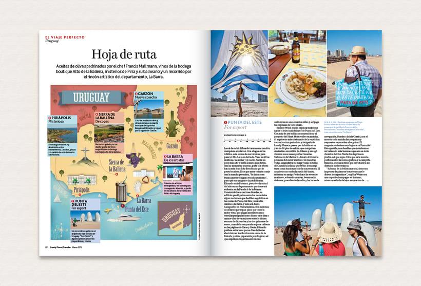 Ilustración | Lonely Planet Magazine 7