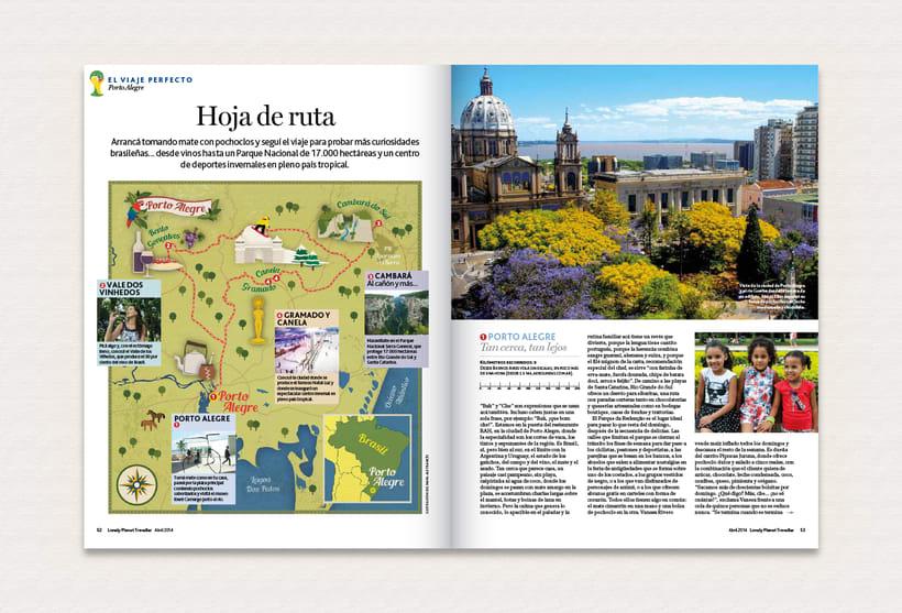 Ilustración | Lonely Planet Magazine 9
