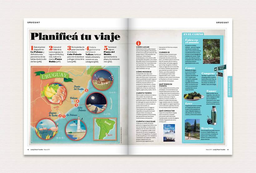 Ilustración | Lonely Planet Magazine 11