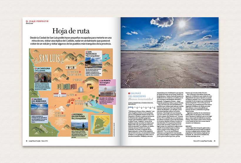 Ilustración | Lonely Planet Magazine 13
