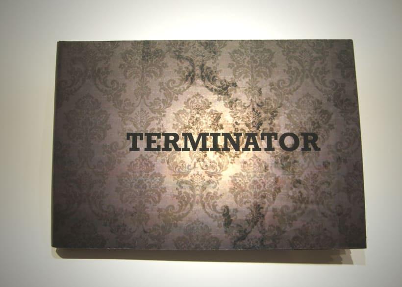 Libro objeto | Conceptualización del film Terminator 0