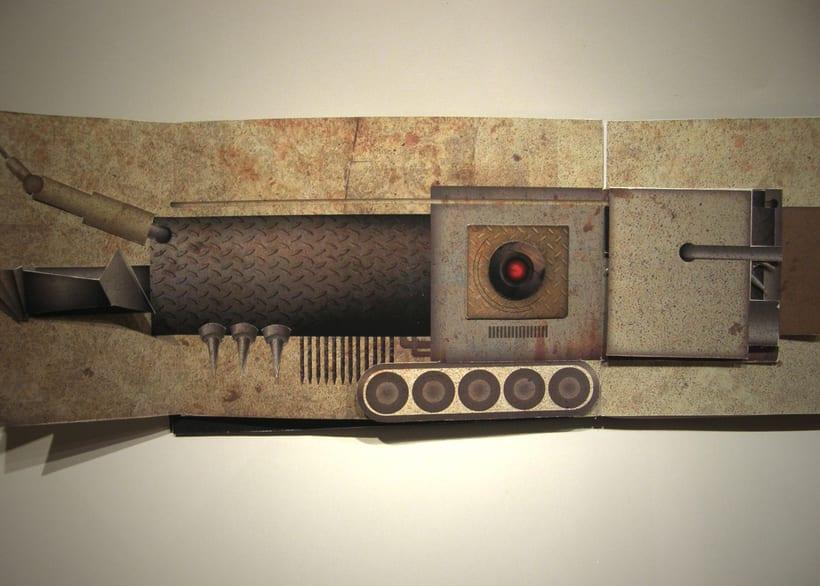 Libro objeto | Conceptualización del film Terminator 5