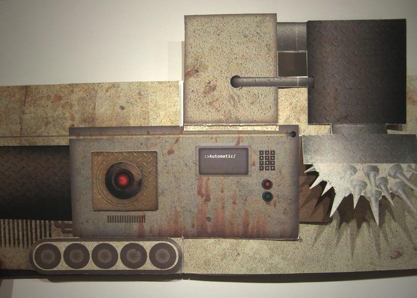 Libro objeto | Conceptualización del film Terminator 6