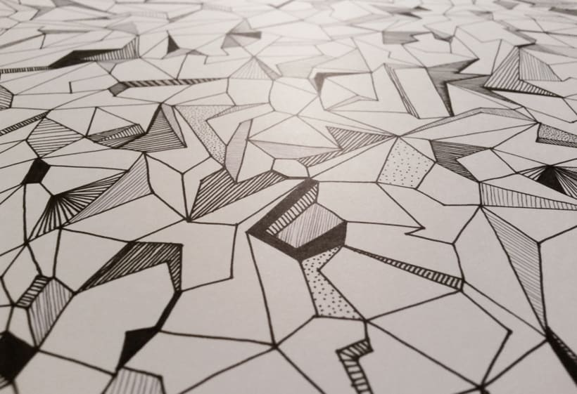Trama geométrica | Drawing 5