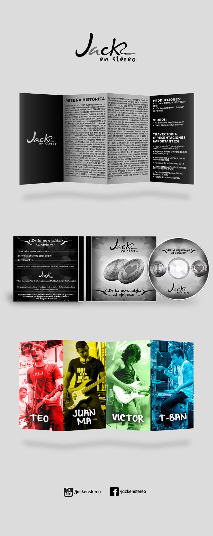 De La Nostalgia Al Cinismo CD Cover -1