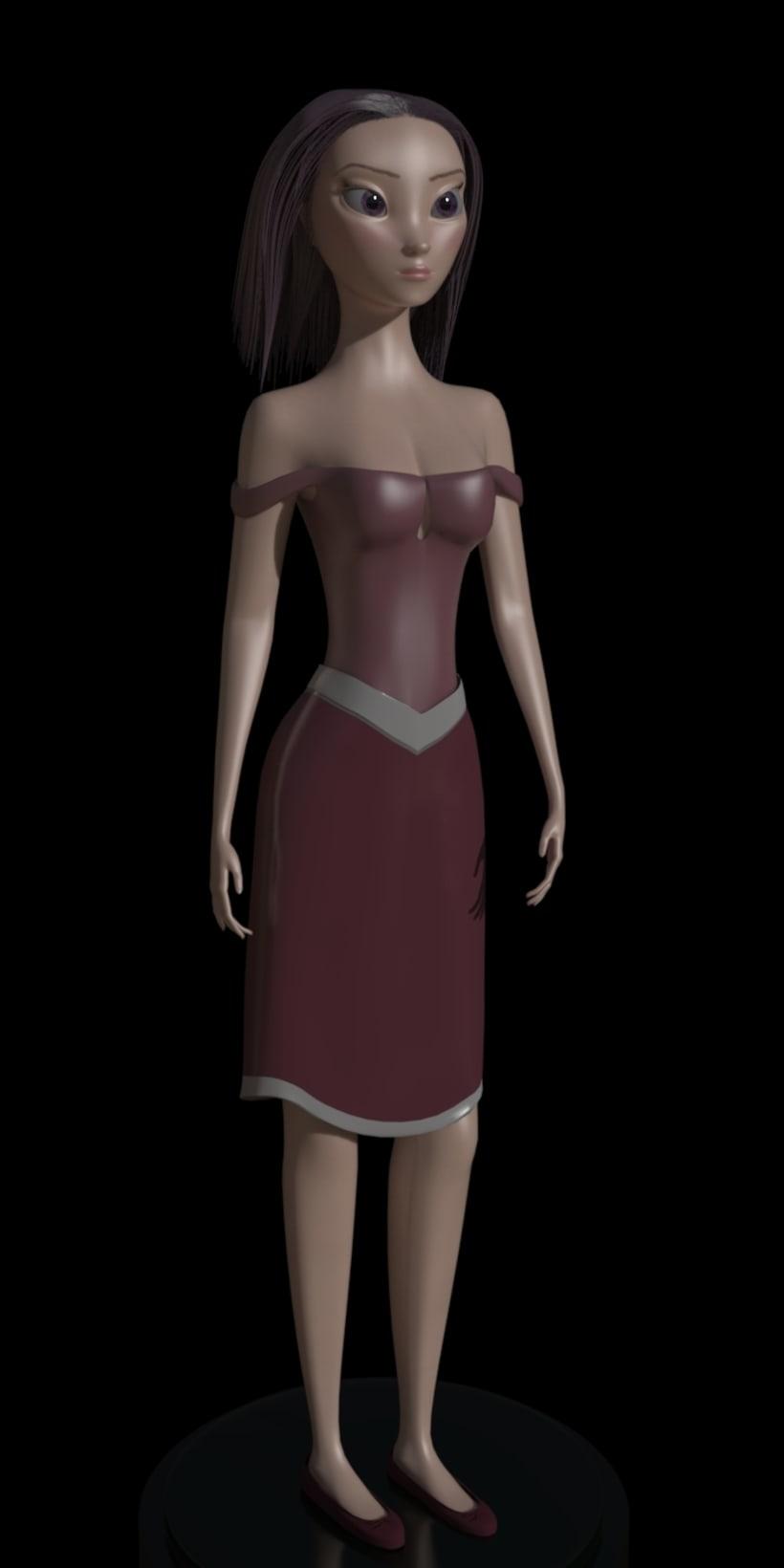 3D Character Model 0