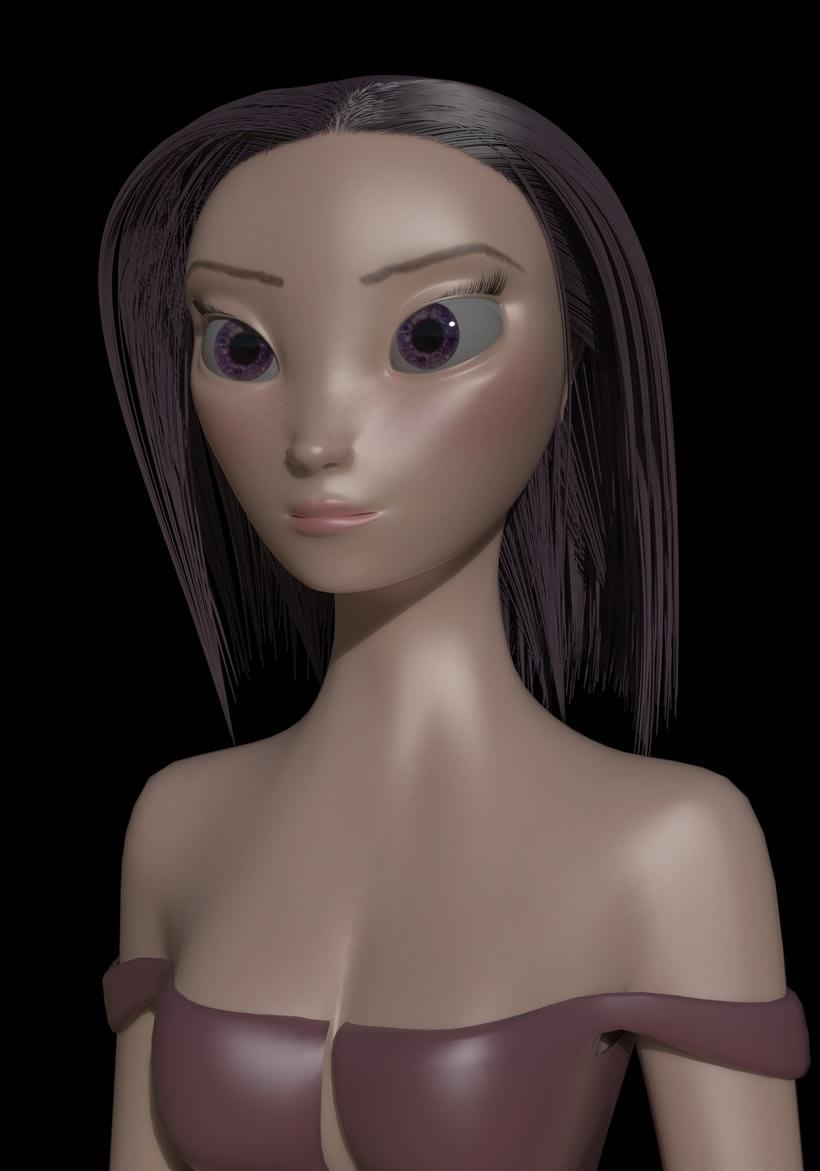 3D Character Model 1