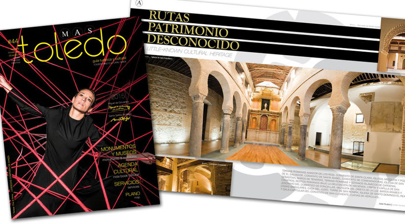 #44 MÁS TOLEDO, guía turística y cultural 2