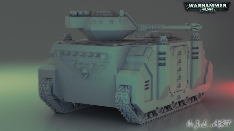 Rhino Warhammer 40k 1